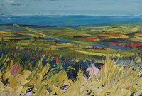 Coastal Fields by John Piper