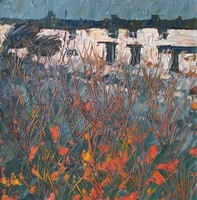 Winter terrace by John Piper