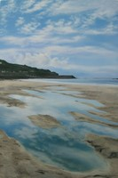 Scattered cloud, Sennen Cove by Nicola Wakeling