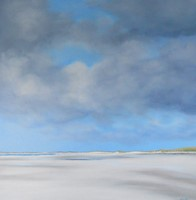 Distant beach by Nicola Wakeling