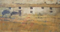 Soft ochre by John Piper