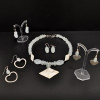 Earings from £36<br>Bracelets from £66<br>Necklaces from £110 by Jen Williams