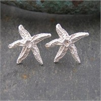 Starfish studs<br>Earings from £68 by Fay Page