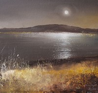 A quiet evening settles on the island by Amanda Hoskin