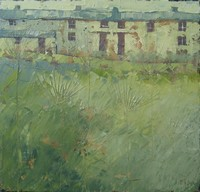 Penwith farm green by John Piper