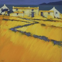 Coastal farm by John Piper