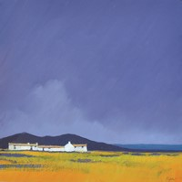 Moorland coast by John Piper