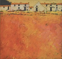 Summer farm by John Piper