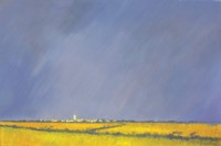 Towards St Buryan by John Piper
