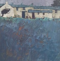 Farm buildings, near Buryan by John Piper