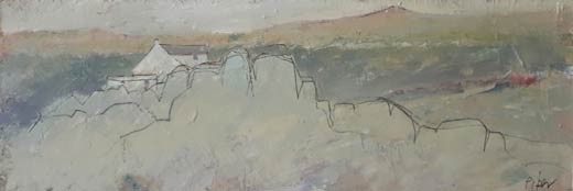 Moorland outcrop by John Piper