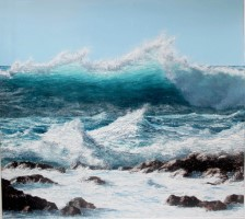 Stormy seas by Paul Sims
