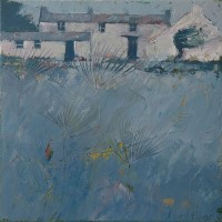 Parsley blue by John Piper