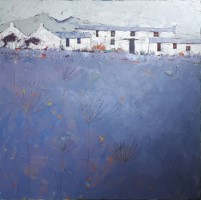 Cool blue by John Piper