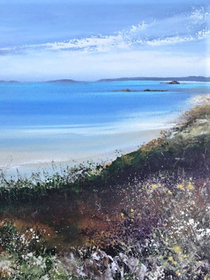 Autumn colours St Martins by Amanda Hoskin