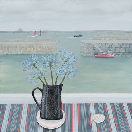 Mousehole Agapanthus by Gemma Pearce