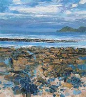Cape Cornwall from Sennen by John Brenton