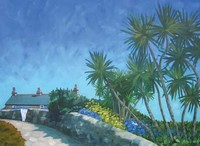 Blue skies St Martins by Andrea Stokes