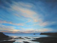 Polzeath, Cornwall by Nicola Wakeling