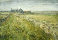 Farmhouse, Penwith Moor by Benjamin Warner