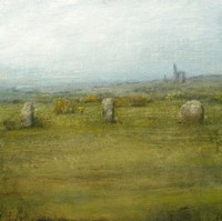 The Hurlers, Bodmin Moor by Benjamin Warner
