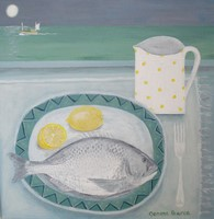 Black Bream for supper by Gemma Pearce