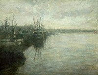 Early Morning, Newlyn I by Benjamin Warner