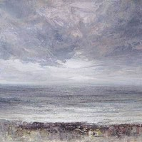 Storm clouds, Gyllyngvase by Benjamin Warner