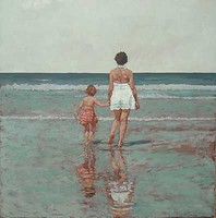 Mother and Daughter by David Axtell