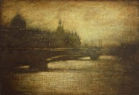 Tranquil evening Seine by Benjamin Warner