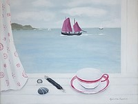 Cudden Point and Lugger by Gemma Pearce