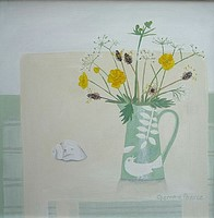 Wild flowers in Ken�s Jug by Gemma Pearce