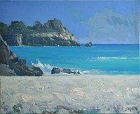 Porthcurno by Gary Long