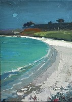 Flash of white sand, Tresco by Gary Long
