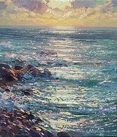 January sunlight, Priest's Cove by Mark Preston