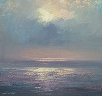Pools of light, the Atlantic by Mark Preston