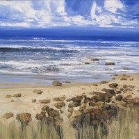 Summer shoreline by John Brenton