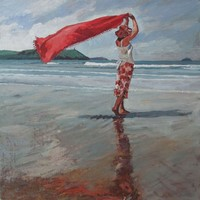 July red by David Axtell