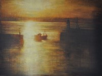 Daybreak, Newlyn by Benjamin Warner
