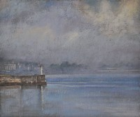 Lifting mist, Penzance by Benjamin Warner