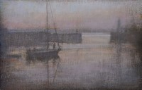 Still morning, Newlyn by Benjamin Warner