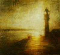 Sunrise, South Pier, Penzance by Benjamin Warner