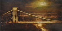Nocturne, Clifton suspension Bridge by Benjamin Warner