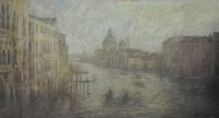 Evening, Grand Canal by Benjamin Warner