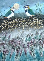 Heather Lapwings by Ingebjorg Smith