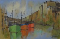 Warm harbour shapes by Michael Praed