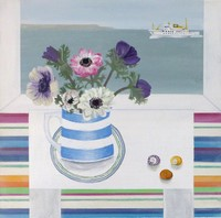 Anemones & Scillonian   by Gemma Pearce