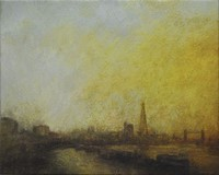 Autumn Thames, the Shard by Benjamin Warner