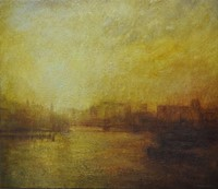 Towards the Tower of London by Benjamin Warner