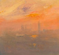 Westminster sunset by Rosemary Trestini
